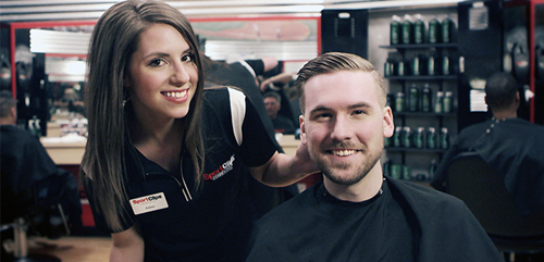 Sport Clips Haircuts of Shawnee Station West Haircuts